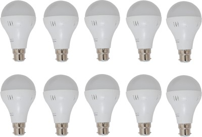 5W LED Bulb (White, Pack of 10)