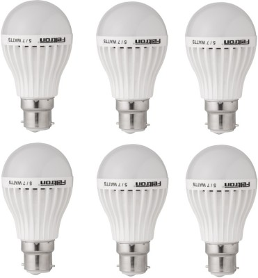 5W LED Bulbs (Cool White, Pack of 6)