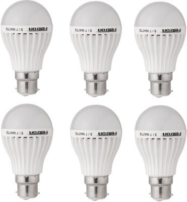 5W LED Bulbs (Cool White, Pack of 6)