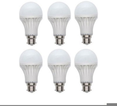 Jmt-Plus-7W-Plastic-220-Lumens-White-LED-Bulb-(Pack-Of-6)