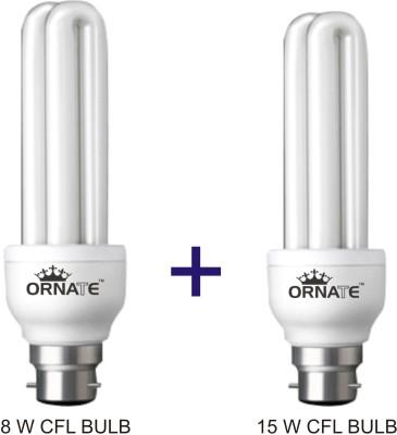 Ornate 8 W, 15 W CFL Bulb Image
