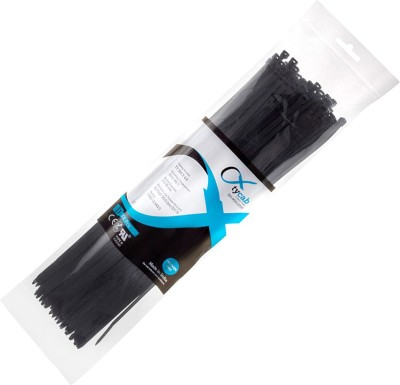 Tycab-14-inch-Black-(364-mm-x-4.8-mm)-1-Pack-of-100-Nylon-Standard-Cable-Tie