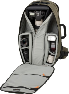 lowepro scope photo travel 350 aw camera bag dark olive