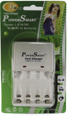 Power Smart 5 Hour Fast Battery Charger (for Ni-MH AA/AAA Rechargeable Batteries)
