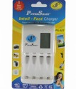Power Smart Fast Cell Charger With USB Port (for Ni-MH AA/AAA Rechargeable Batteries) Camera_battery_charger