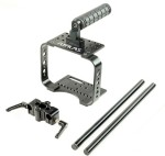Flyfilms Bmcc Bracket With Tripod Mount 15mm Rods