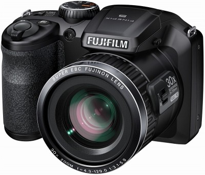 Fujifilm S6800 Advance Point and shoot Camera Black available at Flipkart for Rs.13150