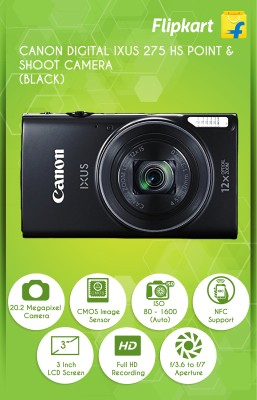 Canon Digital IXUS 275 HS Point & Shoot Camera