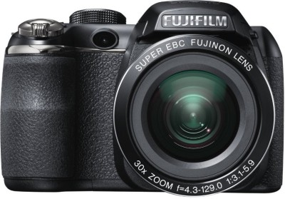 Fujifilm S4500 Point & Shoot Camera Black available at Flipkart for Rs.13500