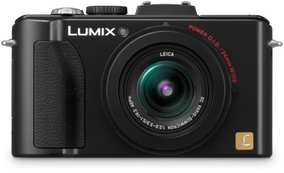 Panasonic Lumix DMC LX5 Point & Shoot Camera Black available at Flipkart for Rs.17280