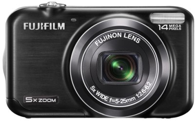 Fujifilm FinePix JX300 Point & Shoot Camera Black available at Flipkart for Rs.7499