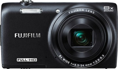 Fujifilm FinePix JZ700 Point & Shoot Camera Black available at Flipkart for Rs.9499