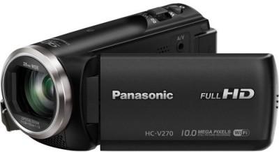 View Panasonic Standard HC-V270 HD Camcorder Camera Price Online(Panasonic)