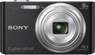 Sony Cyber-shot DSC-W730 Point & Shoot Camera Black