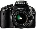 Canon EOS 600D DSLR Camera (Black, Body with EF-S 18-55 mm IS II Lens)