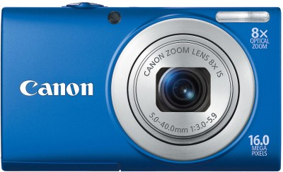 Canon PowerShot A4000 IS Point & Shoot Camera Blue available at Flipkart for Rs.6750