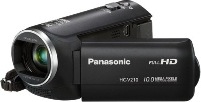 Panasonic HC V210 Camcorder Camera available at Flipkart for Rs.21900