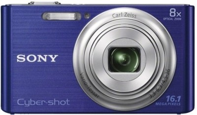 Sony Cyber shot DSC W730 Point & Shoot Camera Blue available at Flipkart for Rs.6850