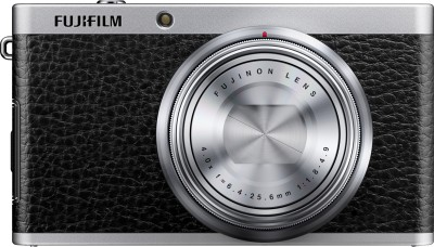 Fujifilm X F1 Point & Shoot Camera Black available at Flipkart for Rs.14980