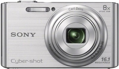 Sony Cyber shot DSC W730 Point & Shoot Camera Silver available at Flipkart for Rs.7440