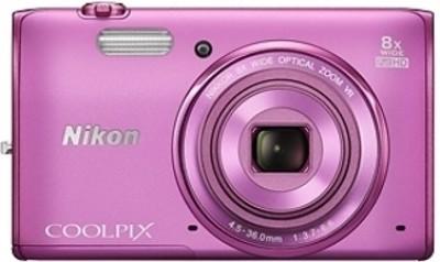 Nikon Coolpix S5300 Point & Shoot Camera(Pink)