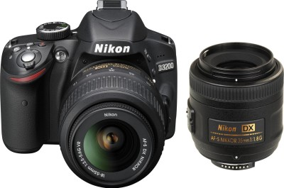 Nikon D3200 (with AF-S 18-55 mm VR Kit + DX NIKKOR 35 mm Lens)