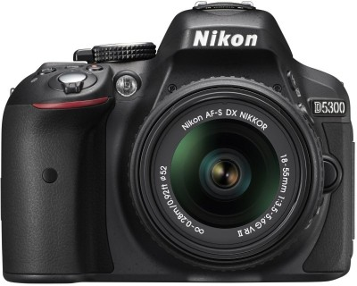 Nikon D5300 (Body with AF-S DX NIKKOR 18-55 mm f/3.5-5.6G VR II) DSLR Camera