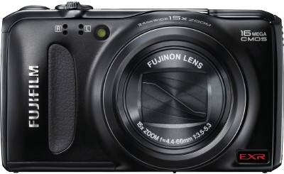 Fujifilm FinePix F500EXR Point & Shoot Camera Black available at Flipkart for Rs.18999