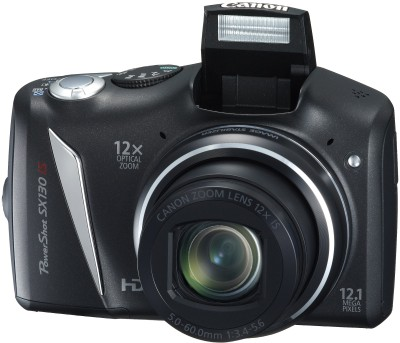 Buy Canon Powershot SX130 IS Point & Shoot Camera: Camera