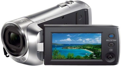 Sony HDR-PJ240E/S with Projector Full HD Camcorder Camera Silver