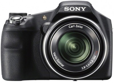 Sony DSC HX200V Point & Shoot Camera Black available at Flipkart for Rs.24740