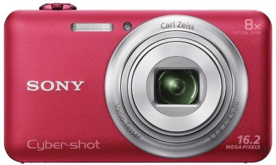 Sony Cyber-shot DSC-WX80 Point & Shoot Camera(Red)