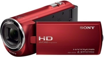 Sony HDR CX220E Camcorder Camera Red available at Flipkart for Rs.20675
