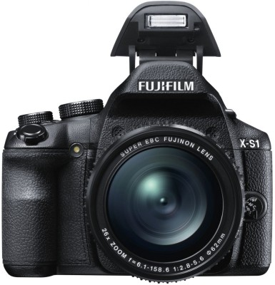 Fujifilm X S1 Point & Shoot Camera Black available at Flipkart for Rs.44444