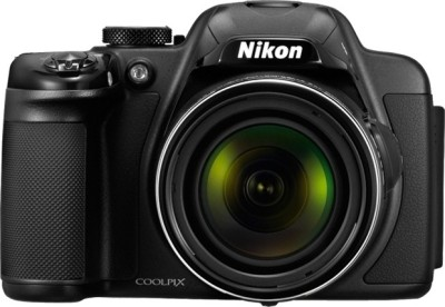 Nikon Coolpix P520 Advanced Point & Shoot Camera Black available at Flipkart for Rs.23950