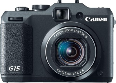 Canon PowerShot G15 Point & Shoot Camera available at Flipkart for Rs.19995