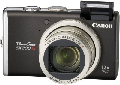 Canon-Powershot-SX200-IS-Point-&-Shoot-Camera