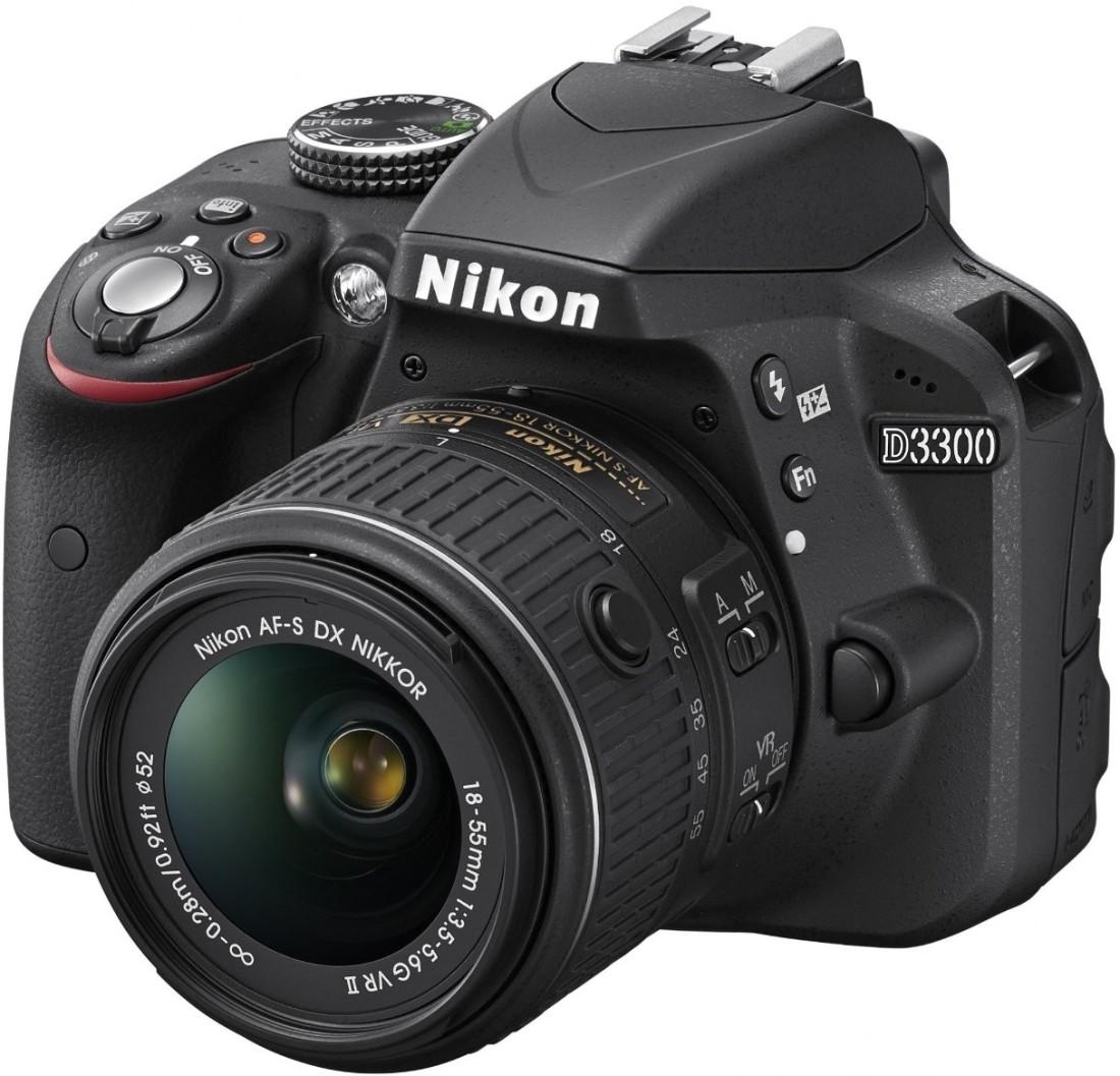 Nikon D3300 (with AF-S 18-55 mm VR II Kit Lens) DSLR