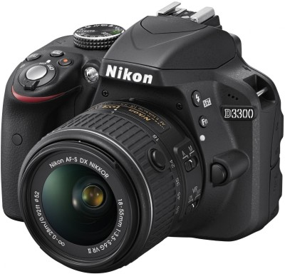 Nikon D3300 (with AF-S 18-55 mm VR II Kit Lens) DSLR