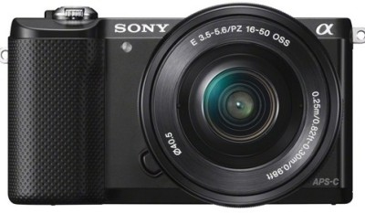 Sony Alpha a5000 (ILCE-5000L) Mirrorless (with 16-50mm Zoom Lens)