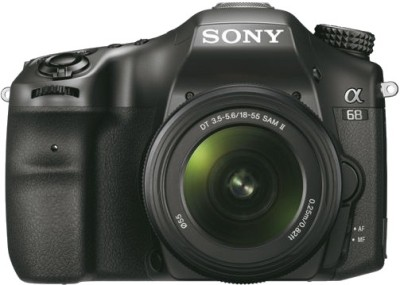 Sony Alpha ILCA-68K DSLR Camera (with 18-55mm Lens)