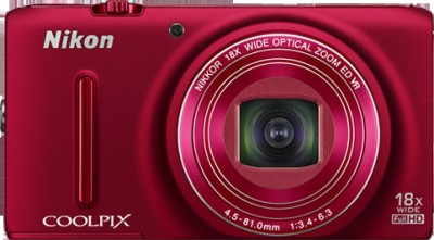 Nikon Coolpix S9400 Advanced Point & Shoot Camera Red available at Flipkart for Rs.16950