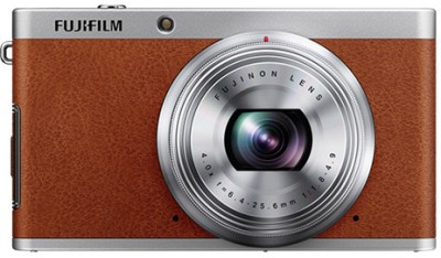Fujifilm X F1 Point & Shoot Camera Brown available at Flipkart for Rs.14999