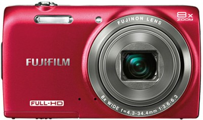 Fujifilm FinePix JZ700 Point & Shoot Camera Red available at Flipkart for Rs.6400
