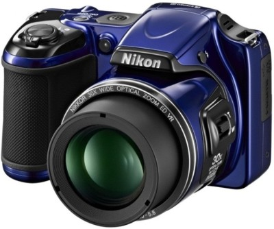 Nikon Coolpix L820 Advanced Point & Shoot Camera Blue available at Flipkart for Rs.14199