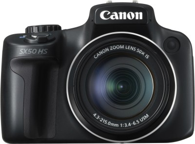 Canon PowerShot SX50 HS Point & Shoot Camera available at Flipkart for Rs.22096