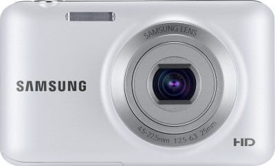Samsung ES95 Point & Shoot Camera White available at Flipkart for Rs.4333