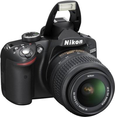 Nikon D3200 (with AF-S 18-55mm VR Kit Lens) DSLR