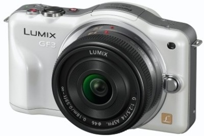 Panasonic Lumix DMC GF3 Mirrorless Camera Body with 14 42 mm Lens available at Flipkart for Rs.22500
