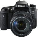 Canon EOS 760D Kit (EF-S 18 - 135 Mm IS STM) DSLR Camera (Black)